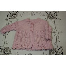 Hand Knit Baby - cardi